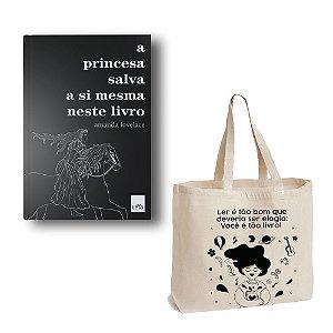 KIT A Princesa + Ecobag Ler é tão bom!_Menina