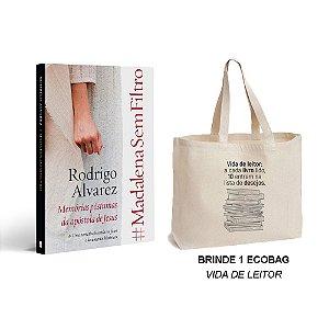 Livro #MadalenaSemFiltro com BRINDE - Ecobag Vida de Leitor
