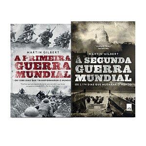 KIT livros A Primeira Guerra Mundial + A segunda guerra mundial