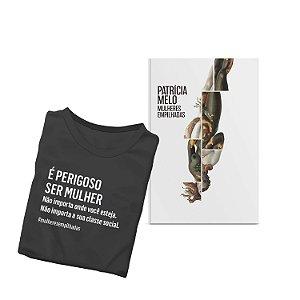 KIT livro Mulheres empilhadas + Camiseta Mulheres Empilhadas