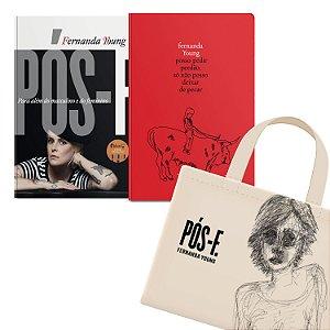 KIT livros Pós-F. Para além do masculino e feminino + Posso pedir perdão, só não posso deixar de pecar + Ecobag Pós-F