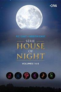 Box House of Night - Coleção completa v.1 (livros 1 a 6)