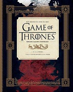Por dentro da série da HBO - Game of thrones - 3ª e 4ª temporadas