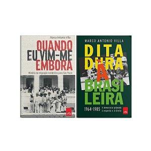 KIT livros Quando eu vim-me embora + Ditadura à brasileira