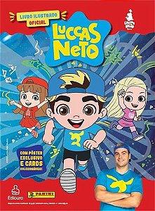 Livro ilustrado oficial - Luccas BR