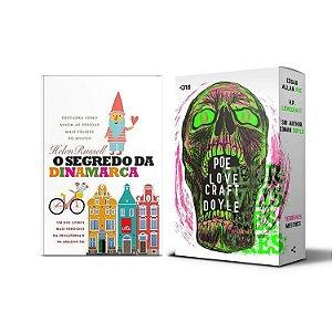 KIT livros O segredo da Dinamarca + Box terríveis mestres