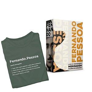 KIT Camiseta Fernando Pessoa + Box Fernando Pessoa