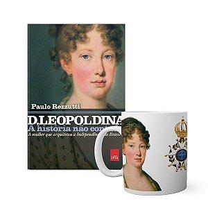 KIT História não contada D Leopoldina - Livro + caneca