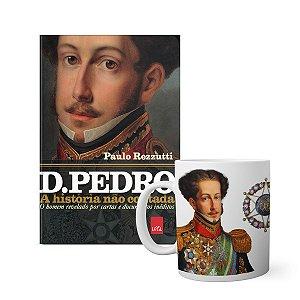 KIT História não contada D Pedro - Livro + caneca