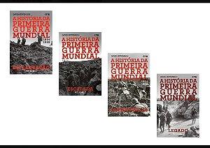 KIT 1914 -1918: A História da Primeira Guerra Mundial