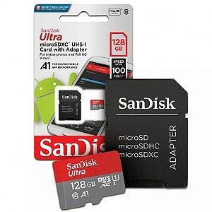 Micro SD 128gb  Sandisk Ultra Classe 10