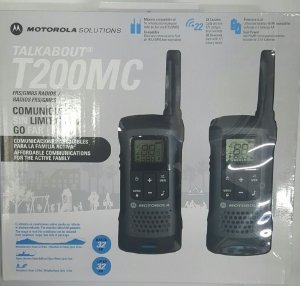 Radio Talkabout T200mc Motorola Recarregável