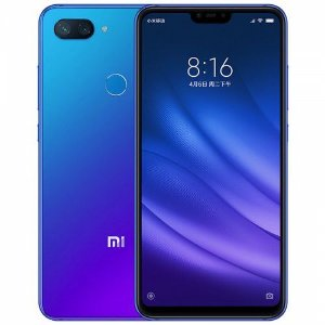 Xiaomi Mi 8 Lite Azul: 4 GB de RAM e 64 GB de ROM - Versão Global - Snapdragon 660