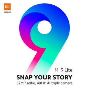 Xiaomi MI 9 Lite: Versão Global - 6 RAM e 64 ROM - Snapdragon 710