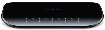 Switch Ethernet TP-Link TL-SG1008D, 8 portas Gigabit