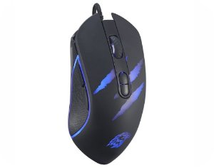 Mouse USB Gamer K-mex MO-YA37 com LED - Kmex
