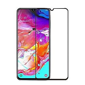 Película de Vidro 5D Samsung A80 Preta