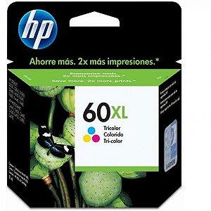 Cartucho de Tinta HP 60xl Colorido - Original