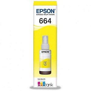 Garrafa de Tinta Epson 664 Amarelo