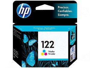 Cartucho de Tinta HP 122 - Colorido - Original