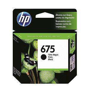 Cartucho de Tinta HP 675 - Preto - Original
