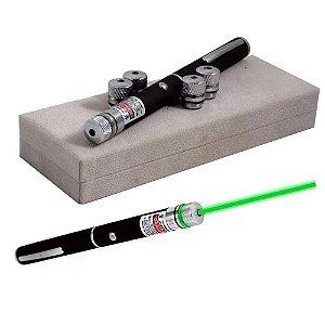 Apresentador Laser Verde Yasin