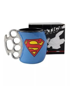 Caneca Soco Super Man - Justice League