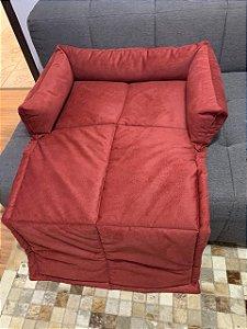 Cama para Cachorro Sofa Pillow Marsala LuckyPet