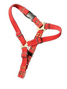 Guia para Cachorro Cotton Guide Vermelho LuckyPet