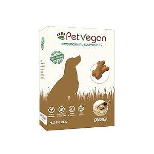 Biscoito Natural para Cães Quinoa 200g PetVegan