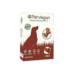 Biscoito Natural para Cães Maçã Sem Glúten 200g PetVegan