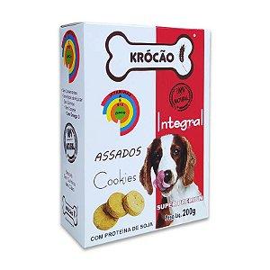 Biscoito Natural para Cachorro Cookies 200g Krocão