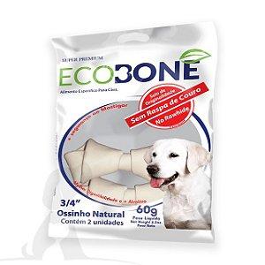 Ossinho para Cachorro Natural 3/4 com 2 un - EcoBone