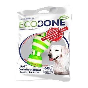 Ossinho Colorido para Cachorro Natural 5/6 com 1 un - EcoBone