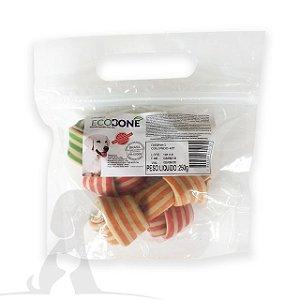 Ossinho Colorido para Cachorro Natural 4/5 com 3 un - EcoBone