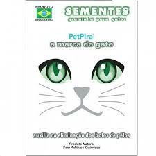 Sementes de Graminha Natural para gatos