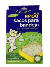 Sacos para bandeja para a areia ou granulado do seu gato