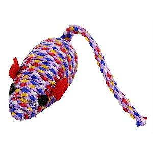 Brinquedo Ratinho Nylon para Gatos
