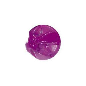 Brinquedo para Cachorro Bola Maciça Translúcida Flex Super Ball 60mm Furacao Pet