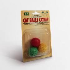 Brinquedo para Gatos Cat Balls Catnip PetPira