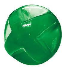 Brinquedo Bola Maciça Translúcida Flex Super Ball 80 MM Furacao Pet