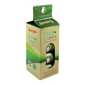 Saquinhos Biodegradável Cata cáca de Cães Gatos 8 rolos EcoGreen