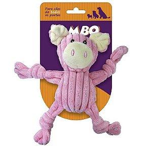Brinquedo Mordedor Nó Porco Pelúcia - Jambo Pet