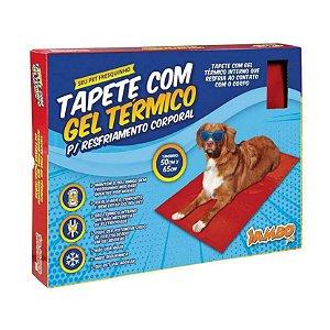 Tapete para Cachorro com Gel Térmico resfriamento aquecimento Jampo Pet