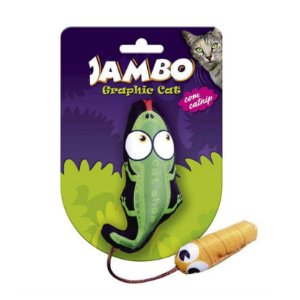 Brinquedo para Gatos Grafic Crocodilo Jambo Pet