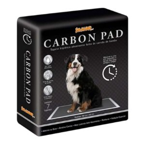 Tapete Higiênico para Cachorro com carvão Carbon Pad 30un JamboPet