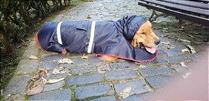 Capa de Chuva Azul Para Cachorro - PetFellice