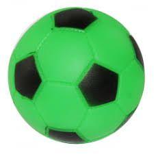 Brinquedo para Cachorro Bola Futebol de Borracha Grande Chalesco