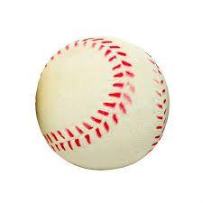 Brinquedo Bola Baseball de Borracha Grande para Cachorro - Chalesco