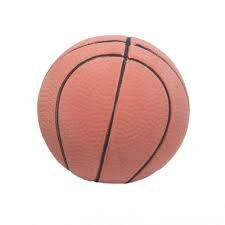 Brinquedo para Cachorro Bola Basketball Borracha Grande Chalesco
